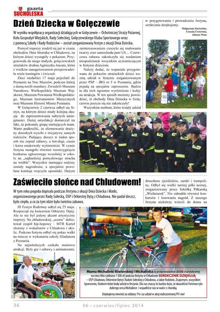 Festyn Rodzinny Chludowo 2014