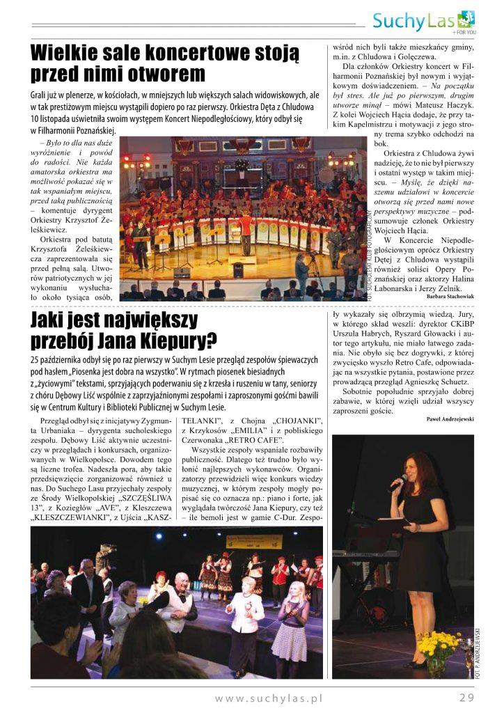 Koncert Niepodległościowy Aula UAM Poznań 2014