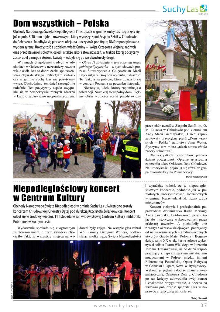 Koncert Niepodległościowy Suchy Las 2015