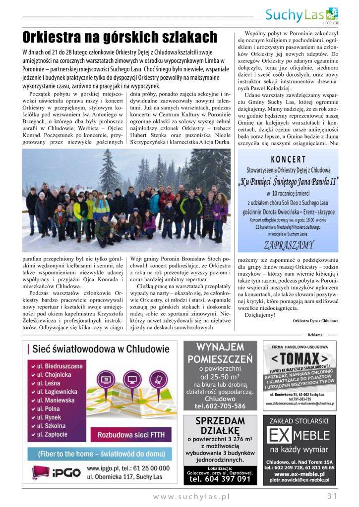 Warsztaty zimowe 2015 Poronin